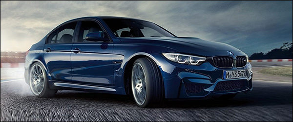 Officieel: BMW M3 Berline facelift (2017)