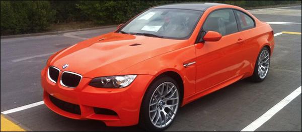Laatste BMW M3 Coupe is voor Belgie - BMW Verstraete