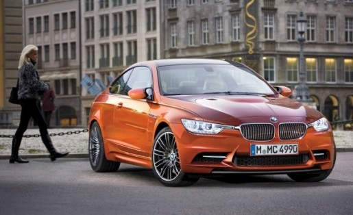 BMW M3 M4 Coupe Render 2014