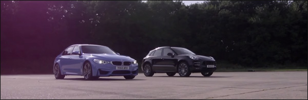 BMW M3 vs Porsche macan Turbo