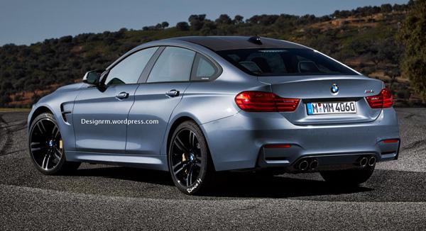 BMW M4 Gran Coupe - Impressie