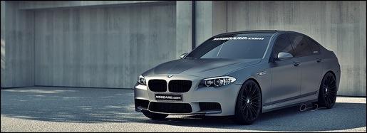 BMW M5 2012 Frozen Gray