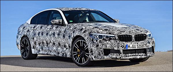 Video: aankomende BMW M5 komt met M xDrive!
