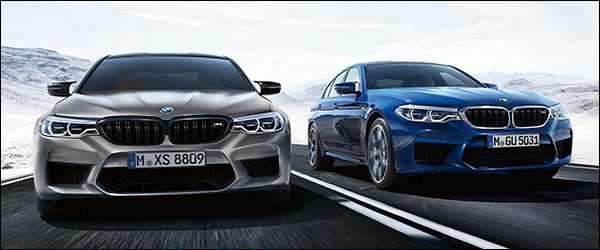 Officieel: BMW M5 Berline Competition (2018)