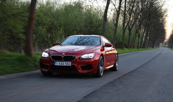 BMW M6 GroenLicht Rijtest