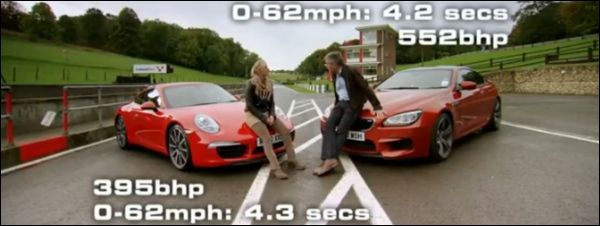 BMW M6 vs Porsche 911 Carrera S