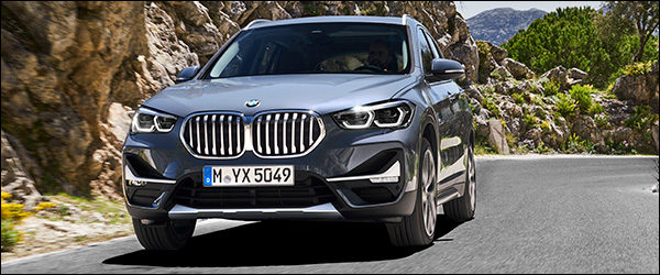 Officieel: BMW X1 facelift (2019)