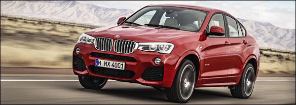BMW X4 - Productierijp