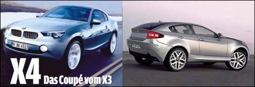 BMW X4 - X3 Coupé