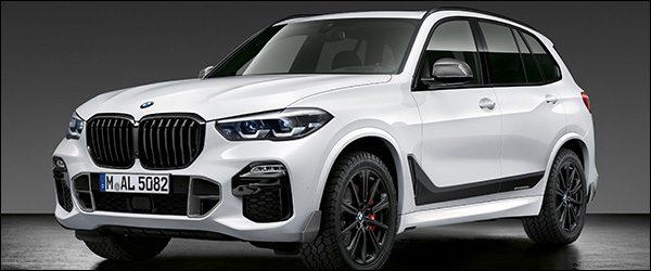 Officieel: BMW X5 M Performance Parts (2018)