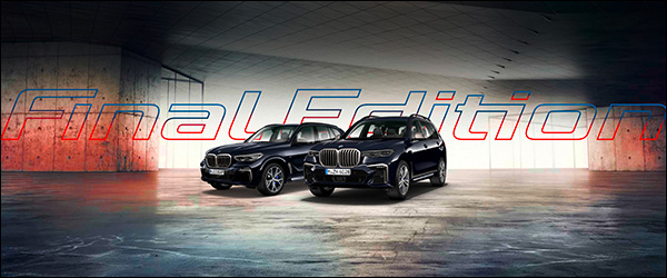 Officieel: BMW X5 M50d Final Edition + X7 M50d Final Edition (2020)