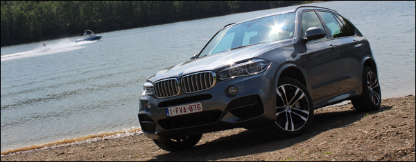 BMW X5 M50d - Header