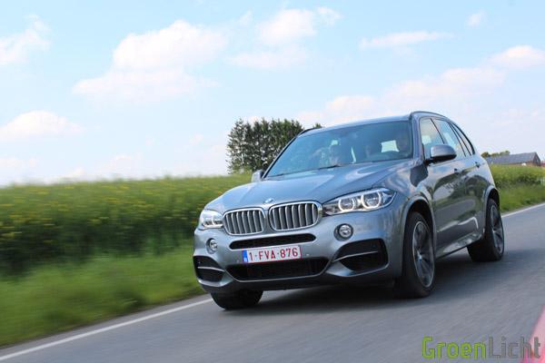 BMW X5 M50d - Rijtest 22