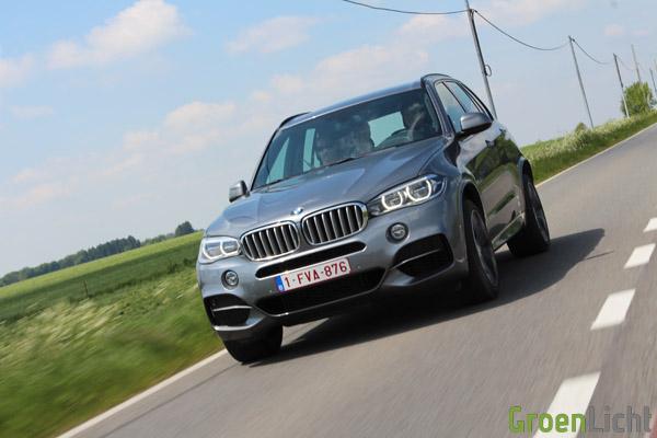 BMW X5 M50d - Rijtest 23