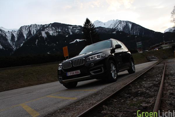 BMW X5 xDrive30d F15 2014 - Rijtest10
