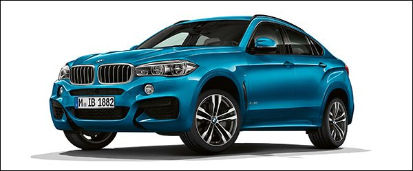 Officieel: BMW X6 M Sport Edition (2017)