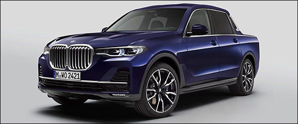 Officieel: BMW X7 pick-up (2019)