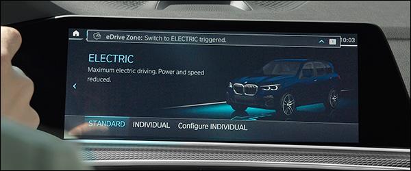 BMW eDrive Zones: automatisch emissievrij rijden in de stad (2020)