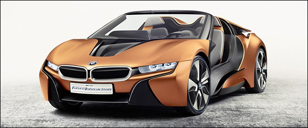 Officieel: BMW i Vision Future Interaction Concept [i8 Spyder]