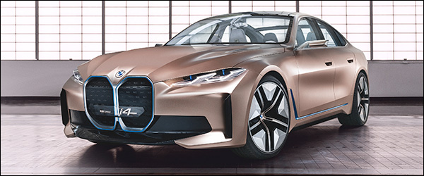 Officieel: BMW i4 Concept (2020)