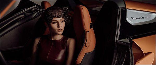 Exclusieve hoofddeksels voor de BMW i8 Roadster - Fabienne Delvigne