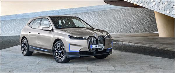 Officieel: BMW iX EV SUV (2021)