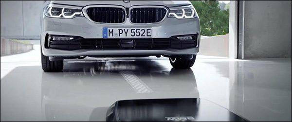 BMW komt met Wireless Charging: draadloos opladen!