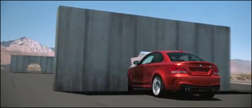 BMW 1-Reeks M Coupé Hole in the Wall