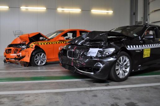 BMW 5-Reeks Crashtest