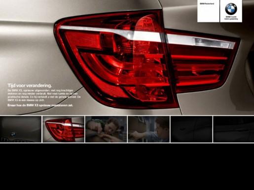 Nieuwe BMW X3