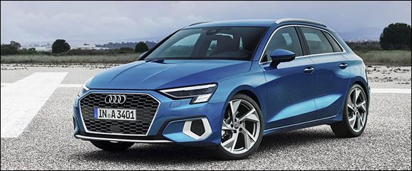 Belgische prijs Audi A3 Sportback (2020): vanaf 26.100 euro