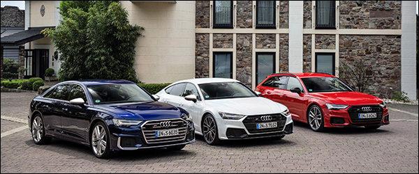 Belgische prijs Audi S6 Berline (2019): vanaf 78.000 euro