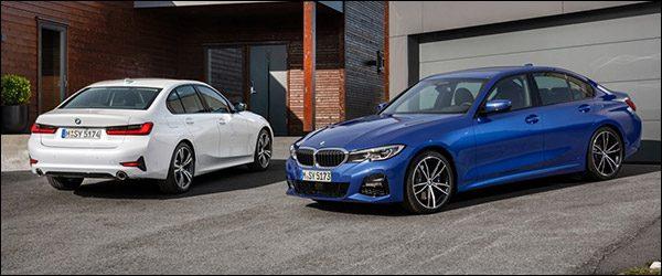 Belgische prijs BMW 3-Reeks Berline G20 (2018): vanaf 35.950 euro