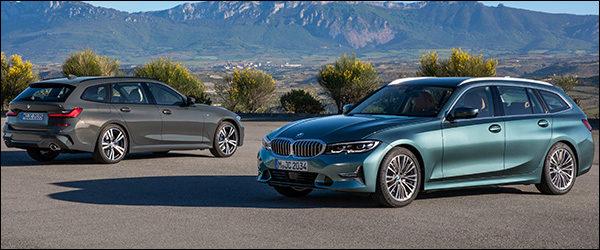Belgische prijs BMW 3-Reeks Touring (2019): vanaf 40.700 euro