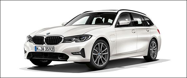 Belgische prijs BMW 330e Touring (2020): vanaf 52.150 euro