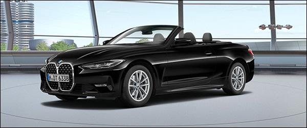 Belgische prijs BMW 4 Reeks Cabrio (2020): vanaf 53.000 euro