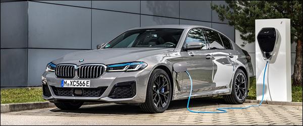 Belgische prijs BMW 545e Berline (2020): vanaf 73.500 euro