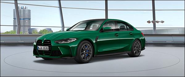 Belgische prijs BMW M3 Berline (2020): vanaf 84.750 euro