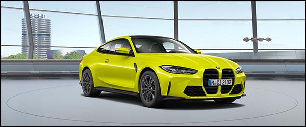 Belgische prijs BMW M4 Coupe(2020): vanaf 86.300 euro