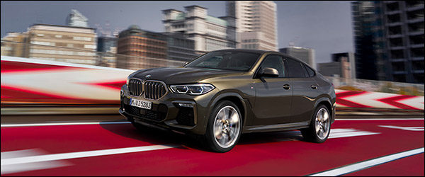 Belgische prijs BMW X6 (2019): vanaf 75.100 euro