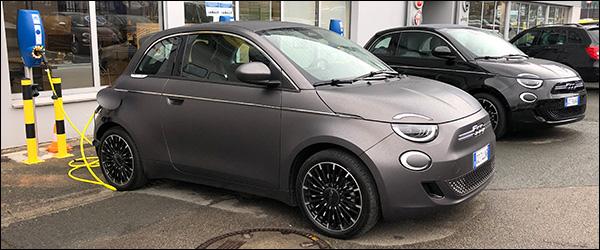 Belgische prijs zuiver elektrische Fiat 500 (2020): vanaf 23.900 euro