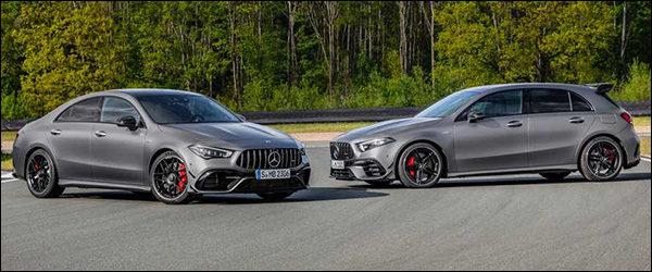 Belgische prijs Mercedes-AMG A45 (S) en CLA45 (S): vanaf 66.490 euro