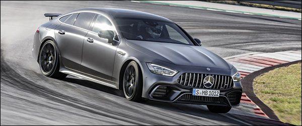 Belgische prijs Mercedes-AMG GT 4-deurs: vanaf 154.880 euro