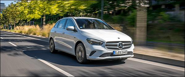 Belgische prijs Mercedes B250e (2020): vanaf 41.624 euro
