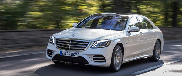 Belgische prijs Mercedes S560e Berline (2018): vanaf 110.957 euro
