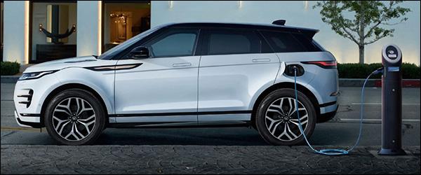 Belgische prijs Range Rover Evoque P300e (2020): vanaf 52.100 euro