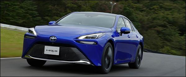 Belgische prijs Toyota Mirai (2020): vanaf 64.470 euro