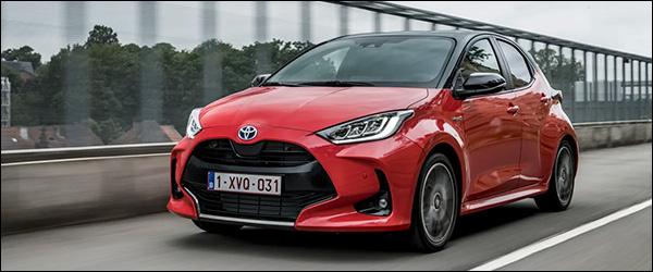 Belgische prijs Toyota Yaris (2020) vanaf 17.760 euro