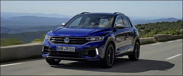 Belgische prijs Volkswagen T-Roc R: vanaf 42.250 euro