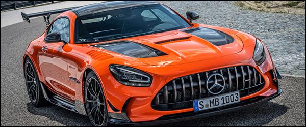Belgische prijs Mercedes-AMG GT Black Series (2020): vanaf 340.738 euro